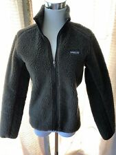 PATAGONIA WOMENS FLEECE SYNCHILLA BROWN ZIP UP VEST SIZE XS