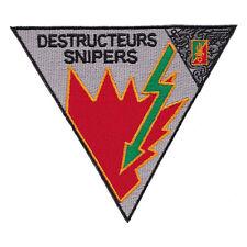 Ecusson / Patch - 2eme REP 4ème compagnie de combat