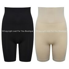 Thigh Control Shorts High Waist Cincher Seamless Shapewear Firm Size 8 - 20