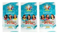 Panini Adrenalyn XL Uefa Euro 2020 Trading 3 Booster - 24 Trading Cards EM 20
