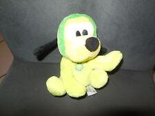 doudou peluche chien Pluto combinaison pyjama vert DISNEY 16cm (2 dispo)