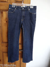 GAP boot cut stretch denim blue jeans size 10 ankle
