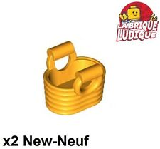 Lego - 2x Friends basket bag panier sac bright light orange clair 93092 NEUF