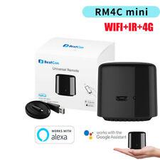 Mini Universal RM4C 4G Smart WIFI IR Remote Controller Timer APP Voice Control M