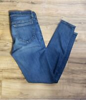J.Crew Womens Toothpick Ankle Jeans Medium Wash Skinny Mid Rise Size 26