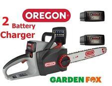 Les épargnants 2 batteries Oregon CS300 2.4ah 36 V sans fil Tronçonneuse 573021 5400 182213963