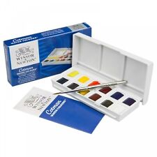 Winsor & Newton Cotman Acquerelli pittura Sketchers POCKET BOX 12 Half Padelle