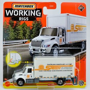 2021 Matchbox Working Rigs #1 International® MV Box Truck / TPN16 VERSION / MOC
