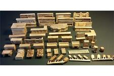 15mm Interior Furnishings for Human Inn Buildings (53 Resin & Metal Pieces)