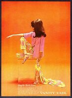 1966 Vanity Fair Jet Set Pajamas & Robe Set photo by Bert Stern vintage print ad