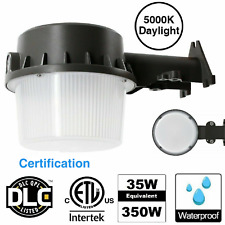 New listing Led Yard Light With Photocell Dusk To Dawn Outdoor Lamp Barn Waterproof 5000K