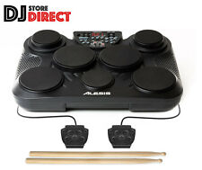 ALESIS Portable Electronic 7 Pad MIDI USB Drum Kit + Drumsticks Christmas Fun