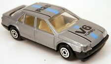 European 1983-1987 Renault R25 5-Door Hatchback Silver MC Toy 1/64 Scale
