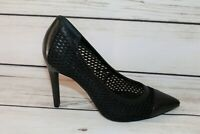 Wittner Brand Black Classic Pump Heels Size 37 LIKE NEW