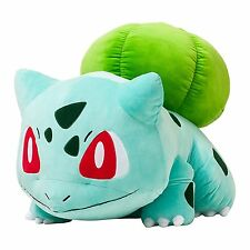 55cm Pokemon Go Bulbasaur Plush Soft Teddy Stuffed Dolls Kids Toy!