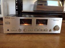 Renkforce HVA-8031 DC Integrated Stereo Verstärker VU Meter Leistungs Anzeige
