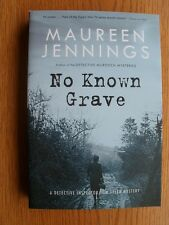 Maureen Jennings No Known Grave 1st Canadian SIGNED Trade paper Original New