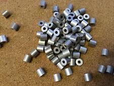 5x Aluminio Crimp Extremo deja de 1.8mm/2mm Cable de acero de acero Aparejo