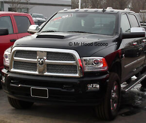 Hood Scoop for Dodge Ram HD 2500 3500 By MRHoodScoop PAINTED HS009