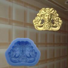 Dekor Stuck Verzierung Silikonform Ornament Relief VINTAGE DEKO Molds (201)