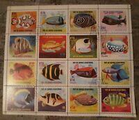 Republica De Guinea ecuatorial Postage 16 Ctos Sheet Used 1974