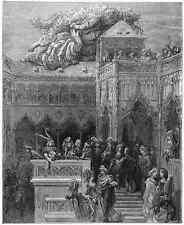 Gustave Dore gigantón Pantagruel 024 A4 Foto impresión