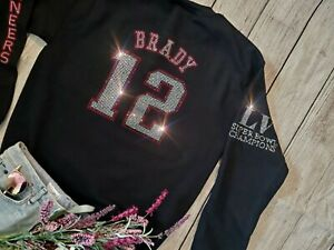 New XL Unisex Tampa Bay Buccaneers Tom Brady #12 Superbowl Champions Crewneck
