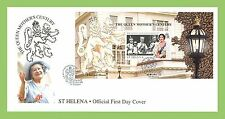 St Helenian First Day Cover Royalty Postal Stamps