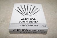 SET OF 9 JEWELERS SCREW DRIVER SET  NEW  WATCH PART