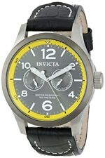 New Mens Invicta 14141 I Force Analog Display Swiss Quartz Black Watch