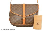 Louis Vuitton Monogram Saumur 35 Shoulder Bag M42254 - YG01235