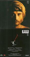 RARE / CD - JOHNNY HALLYDAY : JE SUIS NE DANS LA RUE / COMME NEUF - DIGIPACK