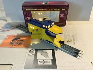 NEW MTH ELECTRIC TRAINS -JAWS III LONG ISLAND SNOW PLOW CAR W83-O-SCALE 20-98235