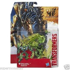 HASBRO TRANSFORMERS 4 AGE OF EXTINCTION GENERATIONS DELUXE SNARL ACTION FIGURE