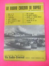 RARO SPARTITO SINGOLO LE NUOVE CANZONI DI NAPOLI 5 FASCICOLO 1960 no cd lp (SP1)