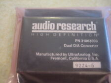 AUDIO RESEARCH ULTRA ANALOG DAC 18 BIT NEW OLD STOCK