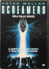 DVD Screamers - Screaming Edited by Spazio with Peter Weller 1995 Used