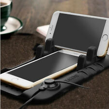 Car Holder Dashboard Stand USB Mount Charger Cradle Non-Slip Pad for Phone GPS