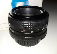 Minolta MD 50mm/F1.7 Interchangeable Lens (BRAND NEW!)