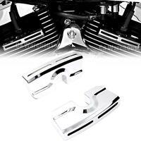 CA Spark Plug Head Bolt Covers For Harley Dyna Softail Twin Cam 99-14 15 16 17
