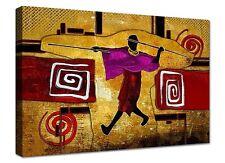 Quadro Moderno Cm 100x70 Stampa su Tela Arredamento Arredo Arte Casa etnico