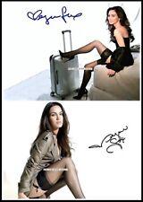 Megan Fox, Autographed, Pure Cotton Canvas Image. Limited Edition (MF-11)