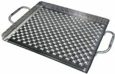 "Broil King Imperial Stainless Steel 15.5"" x 13"" Flat Topper for Grilling 69712"