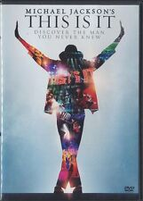 Michael Jackson's This Is It (DVD, 2010, Canadian, Widescreen)