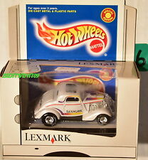 HOT WHEELS LEXMARK EXCLUSIVE 3-WINDOW COUPE 23539 LIMITED EDITION W+