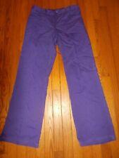 Ladies Greys Anatomy Scrub Pants Dark Purple - Size S