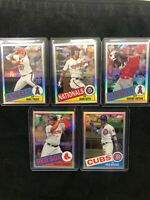 2020 Topps Chrome 1985 35th Anniversary Refractors - U Pick - $2 Shipping