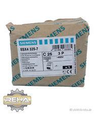 Siemens commutateur de protection de ligne c25 5sx4 325-7
