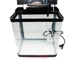 Fish Tank Aquarium LED light sunshine Filter system 5V USB Water Pump Glass H230