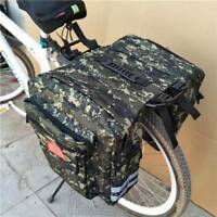 Bike Rear Rack Seat Trunk Saddle Tail Storage Pannier Pouch Bag Bicycle New